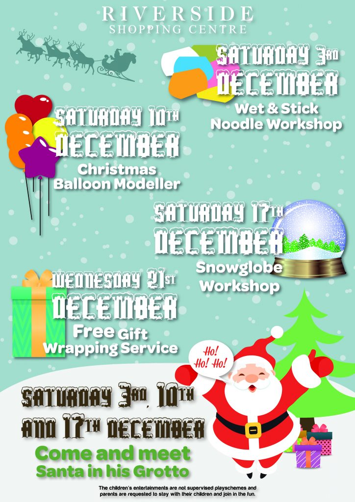 Xmas Events Poster