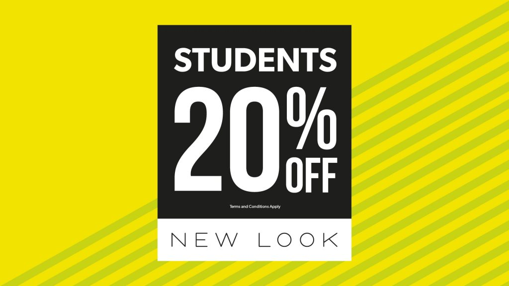 New Look 20% Off Student )